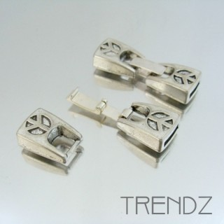 20267 PACK OF 5 CLASPS WITH 2 X 8 MM INTERIOR