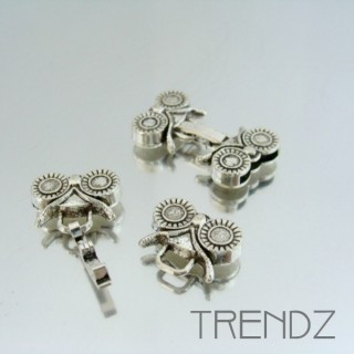20306 PACK OF 5 CLASPS WITH 12 X 2 MM INTERIOR