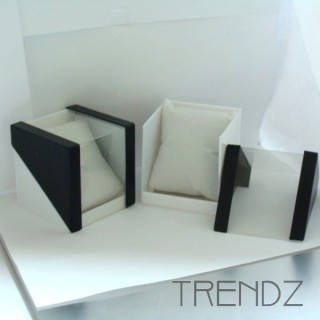 36333 PACK OF 6 BOXES FOR WATCHES 8 X 8 X 8 CM