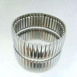 23610 STAINLESS STEEL ELASTIC BRACELET. WIDTH: 22 MM