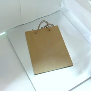 22620 PAQUETE 12 BOLSAS PAPEL 11 X 14 X 6 CM COLOR CARTON