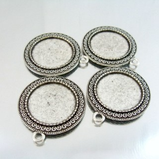 24214-18 PAQUETE 4 PCS BASE CAMAFEO INTERIOR: 25 MM