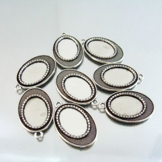24214-42 PACK OF 8 PCS BASE FOR PENDANT INTERIOR: 13 X 18 MM