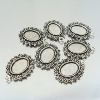 24214-57 PAQUETE 7 PCS BASE CAMAFEO INTERIOR: 13 X 18 MM