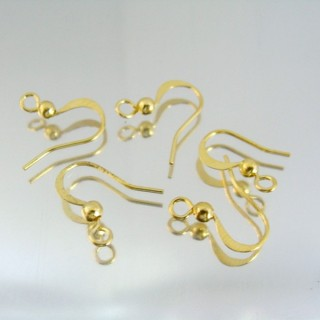 23466 G PACK 100 GRAMS METAL FISH HOOK EARRINGS