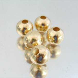 22752-ORO PACK 100 METAL 12 MM BALLS 4 MM HOLE