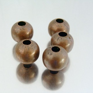 22752-COBRE PACK 100 METAL 12 MM BALLS 4 MM HOLE