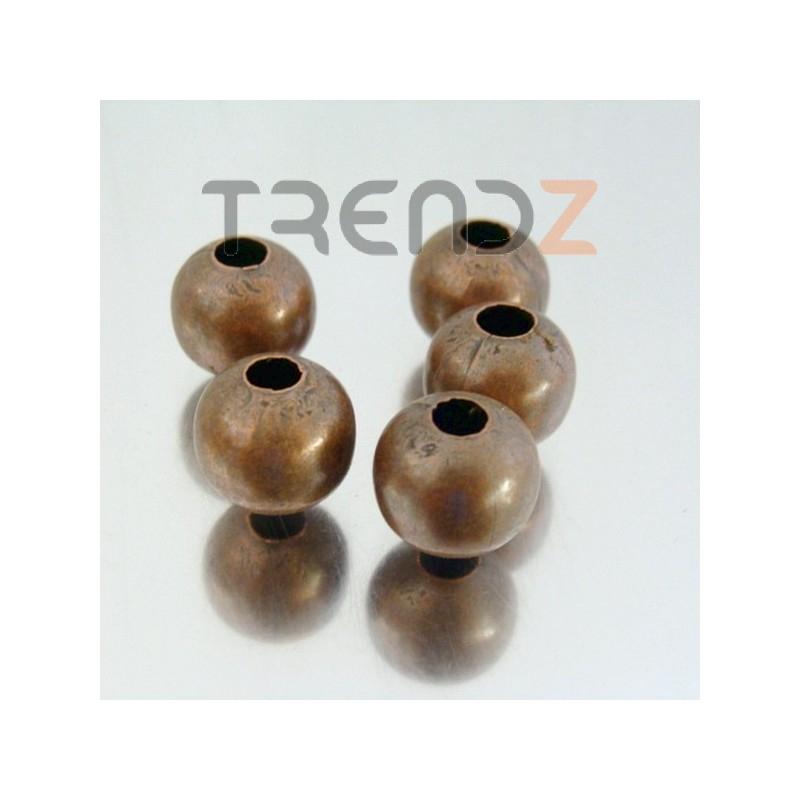 22752-COBRE PACK 100 METAL 12 MM BALLS 4 MM HOLE