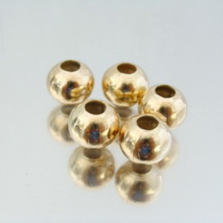 23465-ORO PACK 200 METAL 10 MM BALLS 4 MM HOLE