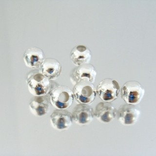 23464-01 PLATA PACK 250 METAL 8 MM BALLS 4 MM HOLE