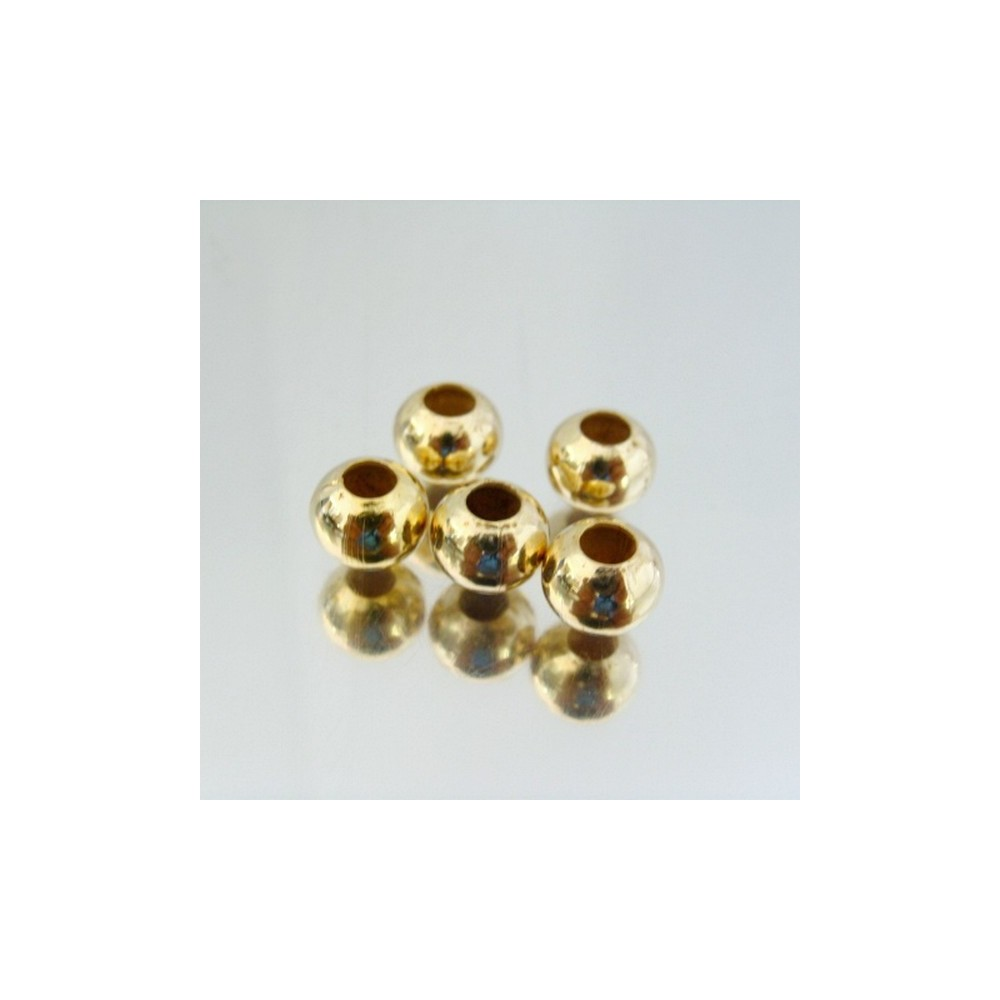 23464-ORO PACK 500 METAL 8 MM BALLS 4 MM HOLE