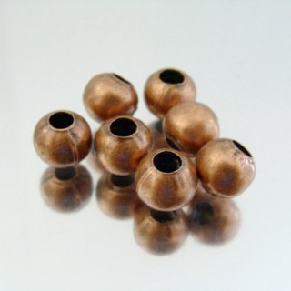 23464-COBRE PACK 500 METAL 8 MM BALLS 4 MM HOLE