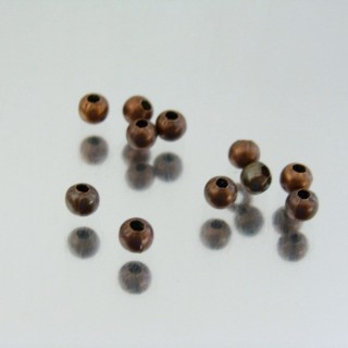 22746-COBRE PACK 2000 METAL 3,2 MM BALLS 1 MM HOLE