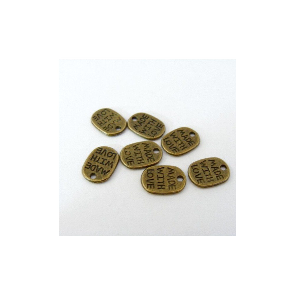 22740-209 PACK OF 40 METAL CHARMS FOR JEWELRY MAKING