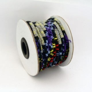 25031-11 ROLL OF 6 MM X 10 MM COTTON ETHNIC CORD