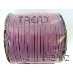 17204 MORADO 90 M ROLL OF 3 MM SUEDE CORD