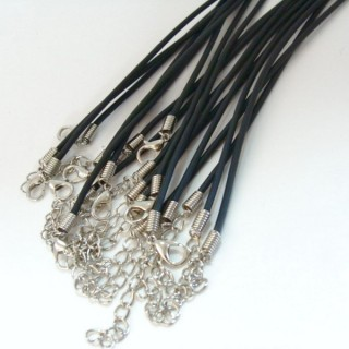 26001 PACK 10 RUBBER CORDS 2 MM X 45 + 5 CM