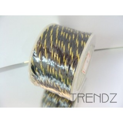 17203-07 NEGRO CORDON TRENZADO NYLON DE 3 MM X 20 M