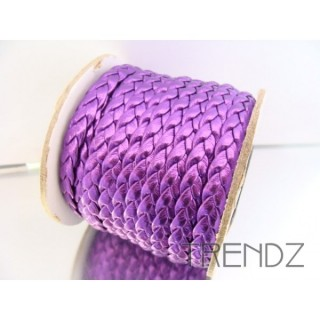 17206 MORADO ROLLO 10 M CORDON 8 MM POLIPIEL TRENZADO