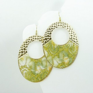 25094-15E FASHION JEWELLERY METAL & ADORNMENT EARRINGS