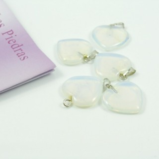 25259 PACK 5 OPALINE PENDANTS OF 20 MM