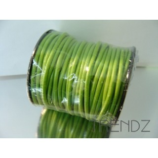 17470 VERDE 20 M ROLL OF 3 MM LEATHER