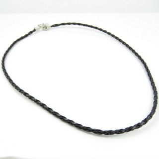 26081-01 PACK OF 10 SYNTHETIC LEATHER PLATTED CORDS