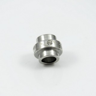 27046 HIGH QUALITY STAINLESS STEEL PENDANT 12 X 11 MM