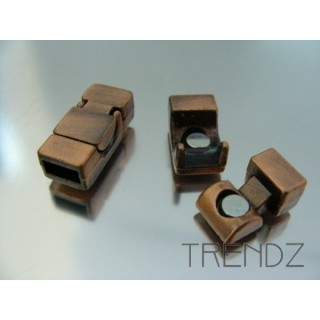 15998 COBRE PACK OF 5 MAGNETIC CLASPS 4 X 8 MM HOLE