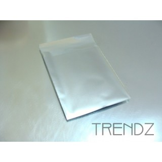 17903-03 SILVER PACK OF 100 CELLOPHANE 6 X 7 CM ENVELOPES