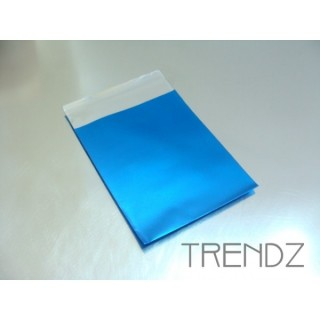17903-01 BLUE PACK OF 100 CELLOPHANE 6 X 7 CM ENVELOPES