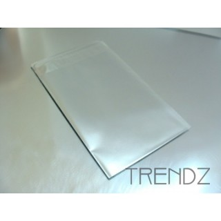 17904-03 SILVER PACK OF 100 CELLOPHANE 7.5 X 12 CM ENVELOPES