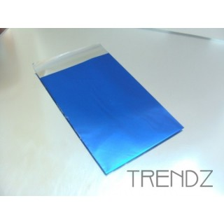 17904-01 BLUE PACK OF 100 CELLOPHANE 7.5 X 12 CM ENVELOPES