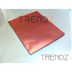 17905-02 RED PACK OF 100 CELLOPHANE 12 X 15 CM ENVELOPES