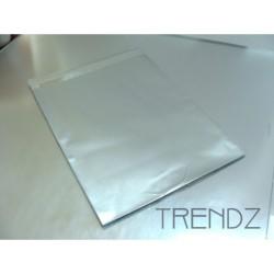 17905-03 SILVER PACK OF 100 CELLOPHANE 12 X 15 CM ENVELOPES