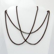 28312-MARRON FASHION JEWELRY 120 CM X 3 MM CHAIN