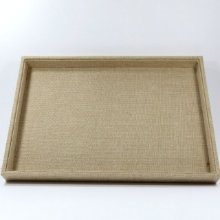 33778 CLOTH EFFECT TRAY FOR JEWELRY 3 X 35 X 24 CM