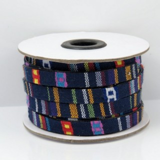 26010-02 ROLL OF FLAT ETHNIC CORD 10 MM X 10 M