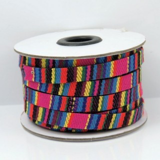 26010-03 ROLL OF FLAT ETHNIC CORD 10 MM X 10 M