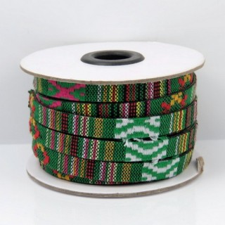 26010-10 ROLL OF FLAT ETHNIC CORD 10 MM X 10 M