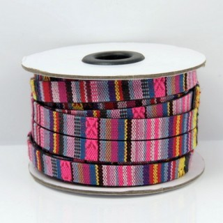 26010-13 ROLL OF FLAT ETHNIC CORD 10 MM X 10 M