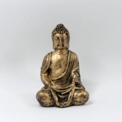 29145 RESIN FIGURE OF GAUTAM BUDDHA 12 X 8 X 6 CM