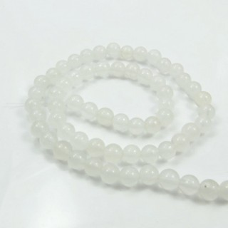 29391-02 STRING OF 60 BEADS OF 6 MM DYED JADE