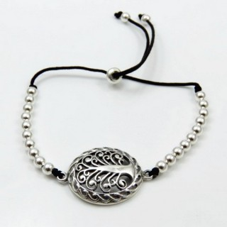 30233  BRACELET WITH 20 X 30 MM TREE OF LIFE CHARM