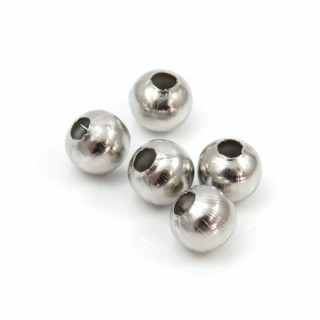 28340 PACK OF 50 HOLLOW 8 MM STEEL BALLS WITH 3 MM HOLE