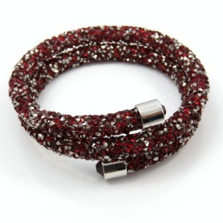 31238-05 WRAPAROUND GLASS FASHION JEWELLERY BRACELET