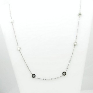 31630 ELEGANT STAINLESS STEEL 40 CM NECKLACE