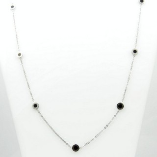 31629 ELEGANT STAINLESS STEEL 40 CM NECKLACE