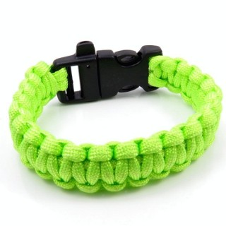 30682-09 NYLON 22 X 2 CM BRACELET WITH PLASTIC BUCKLE WITH WHISTLE