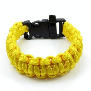 30682-11 NYLON 22 X 2 CM BRACELET WITH PLASTIC BUCKLE WITH WHISTLE
